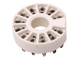 12 Pin Compactron PC Mount Socket