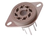 Belton 8 Pin Octal PC Mount Socket - 20.5mm Pins