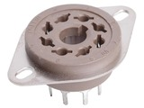 Belton 8 Pin Octal PC Mount Socket - 9.5mm Pins